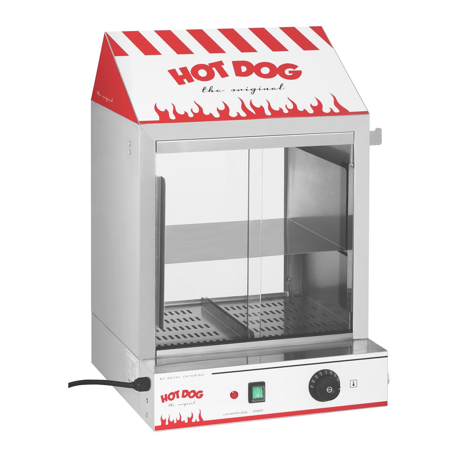Royal Catering Cuiseur à vapeur hot-dogs - 2 000 W