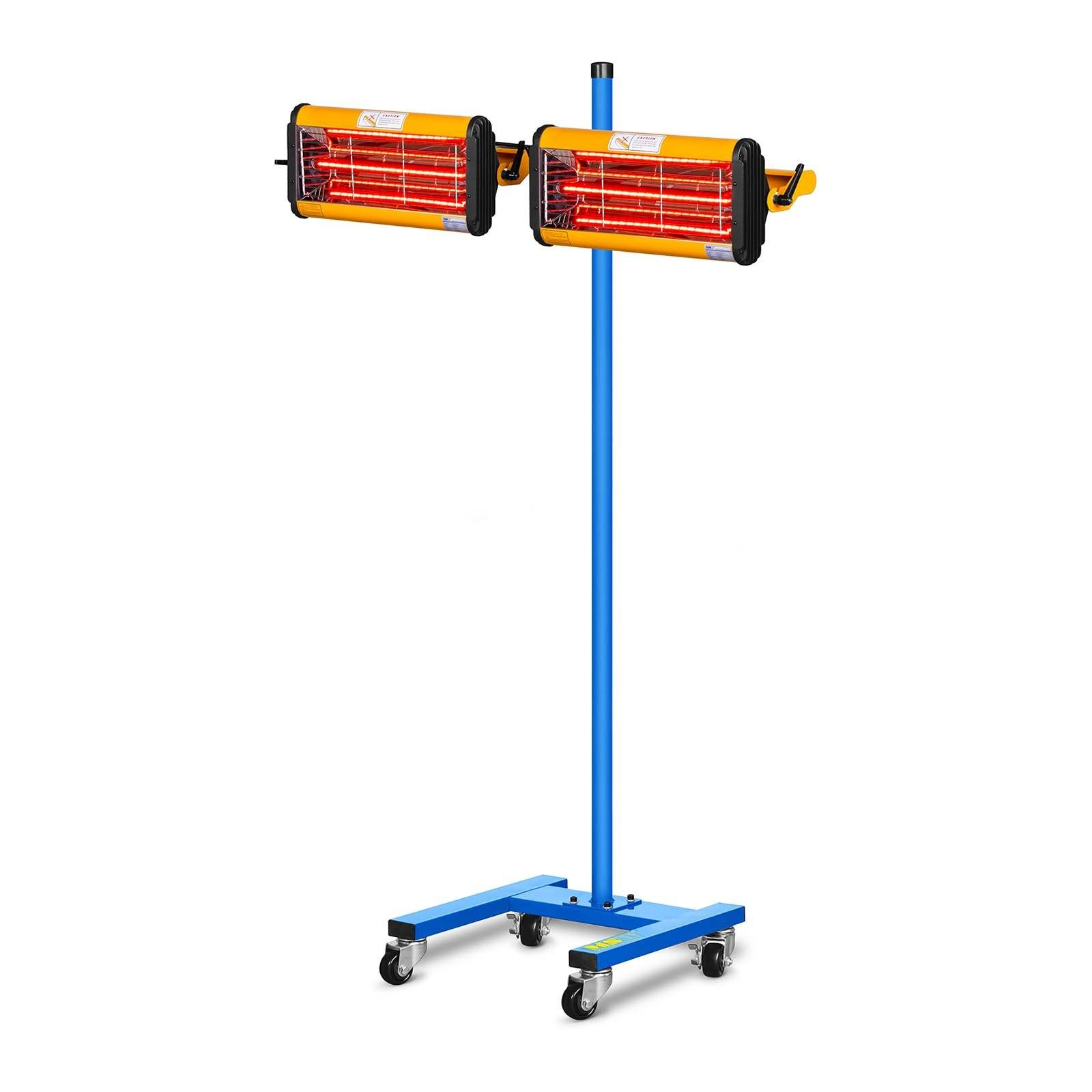 MSW Lampe infrarouge carrosserie - 2200 W - 2 émetteurs IR-DRYER2000.2