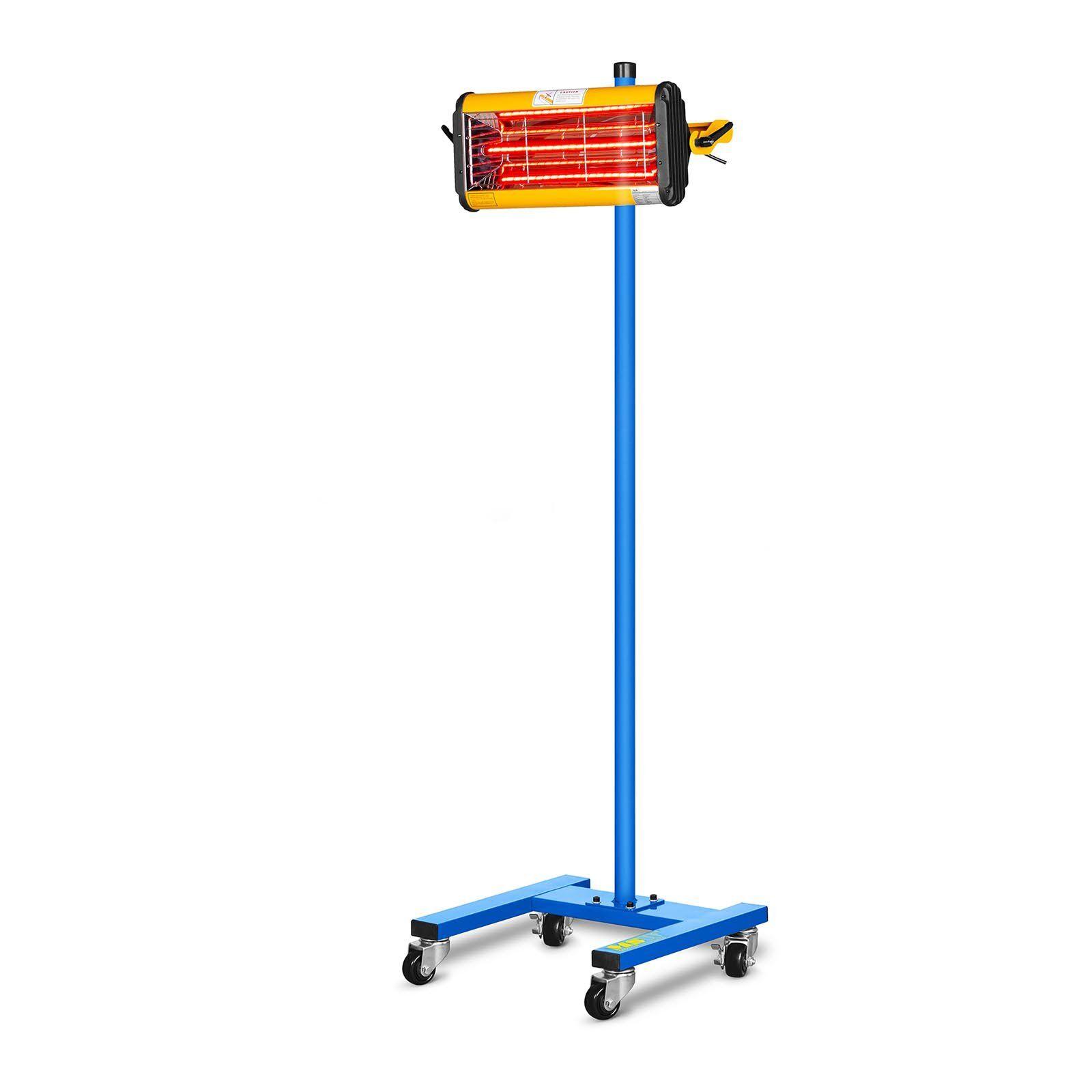 MSW Lampe infrarouge carrosserie - 1100 W - 1 émetteur IR-DRYER1000