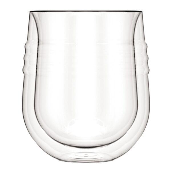 Bodum SKÅL Set 2 verres, double paroi, 0.19 l   Transparent