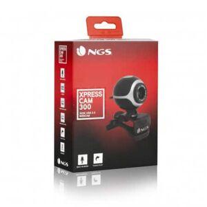 Webcam NGS XpressCam 300 8MP - Microphone intégré - USB - Jack 3,5 mm - Publicité