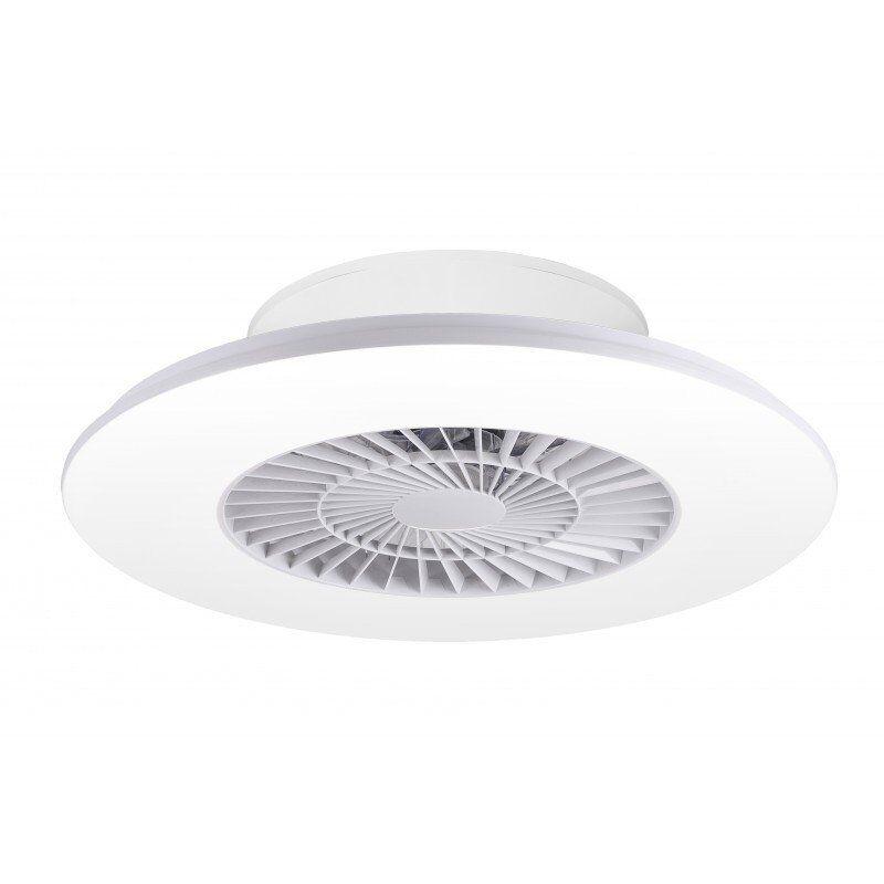 LBA Home Jet Z, ventilateur hybride de plafond ou mural, avec point lumineux puissant