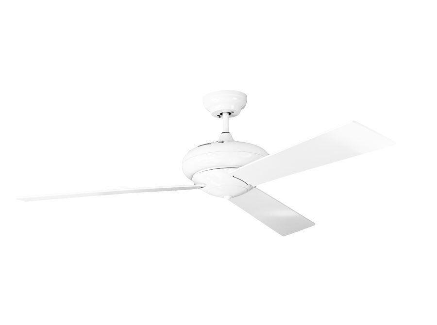 LBA Home Vaudaire ventilateur de plafond, silencieux, puissant  avec contrôle mural