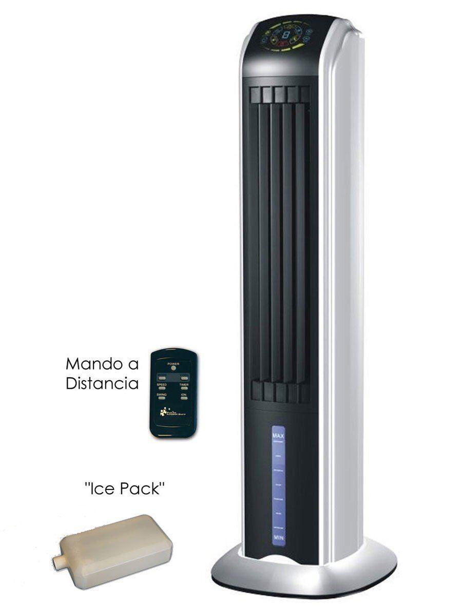 Purline Rafraîchisseur d'air Rafy 81, une tour de ventilation qui rafraîchit discrète élégante efficace.