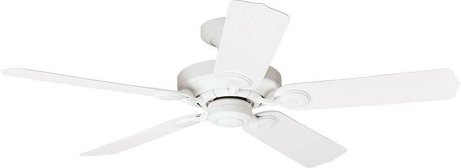 Hunter Ventilateur de plafond classique blanc pour extérieur ip44, silencieux, 132 cm Hunter Coutdoor elements.
