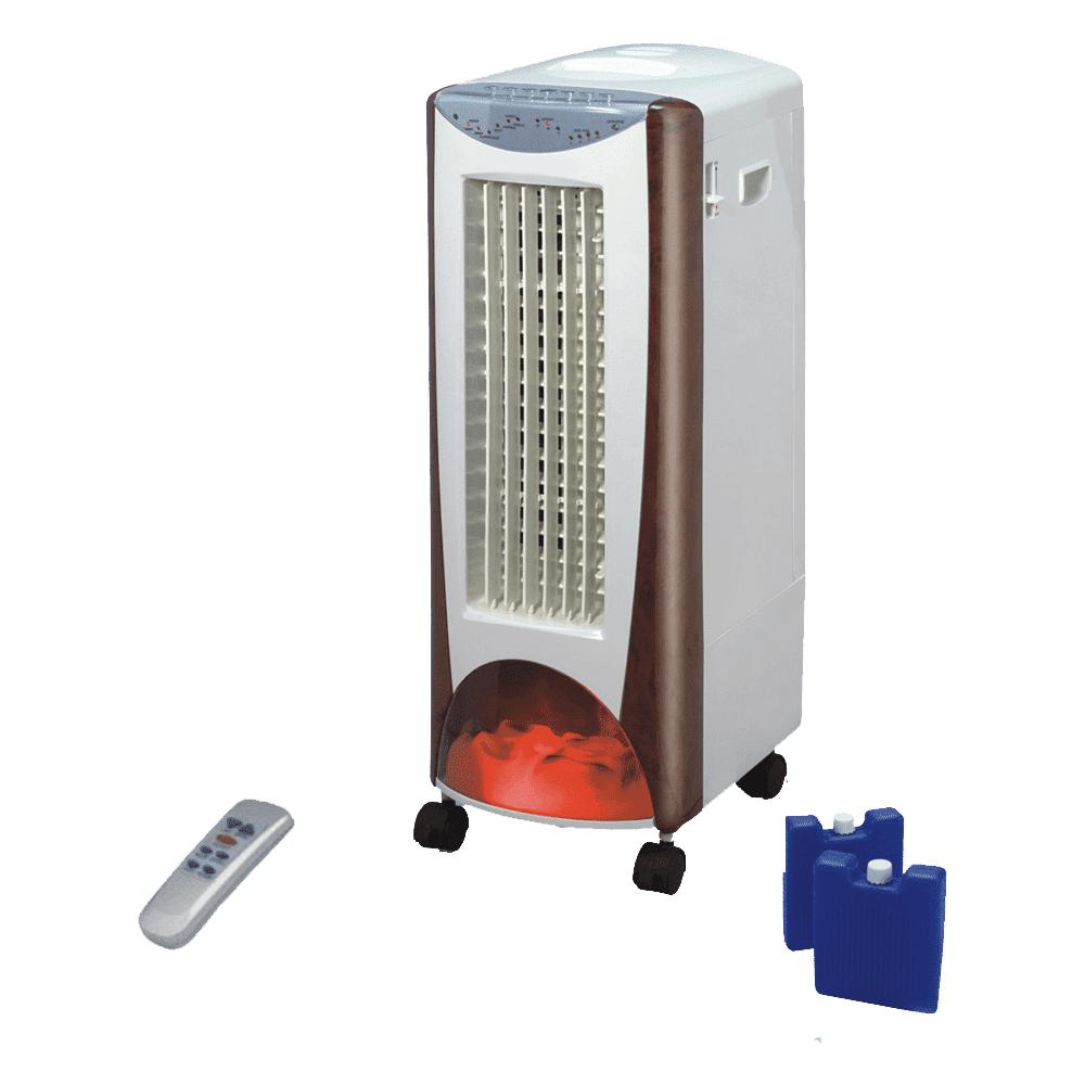 Purline Rafraîchisseur d'air chauffage céramique EV 2000, un produit 4 en 1pratique en toutsaisons.