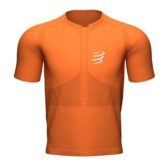 Compressport TRAIL FITTED - Maillot Homme curcuma