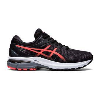 Asics GT-2000 8 - Chaussures running Femme black/sunrise red
