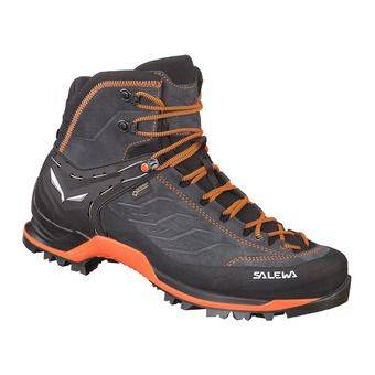 Salewa MTN TRAINER MID GTX - Chaussures trekking Homme asphalt/flu