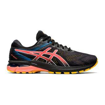 Asics GT-2000 8 TRAIL - Chaussures trail Homme black/sunrise red