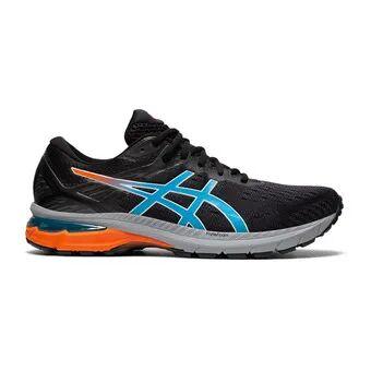 Asics GT-2000 9 TRAIL - Chaussures trail Homme black/digital aqua