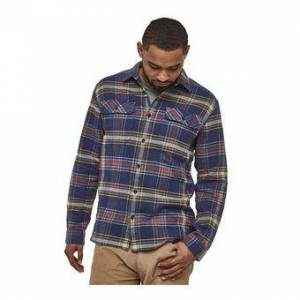 Patagonia FJORD FLANNEL - Chemise Homme defender/new navy