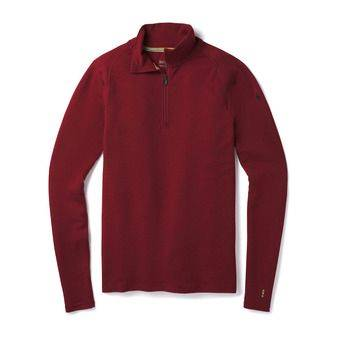 Smartwool MERINO 250 ZIP - Sous-couche Homme tibetan red heather