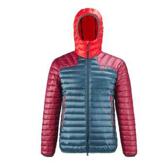 Millet K SYNTH'X D - Doudoune Homme orion blue/tibetan red