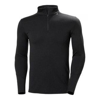 Helly Hansen LIFA MERINO MIDWEIGHT - Sous-couche Homme black