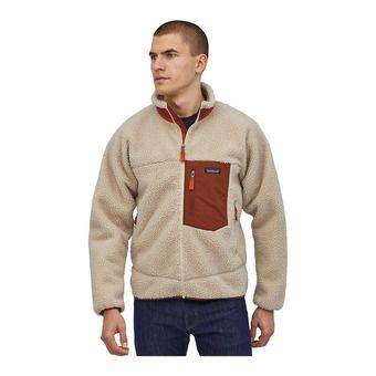 Patagonia CLASSIC RETRO-X - Veste Homme natural w/barn red