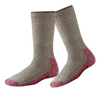 Smartwool MOUNTAINEERING EXTRA HEAVY CREW - Chaussettes Femme taupe/bright pink
