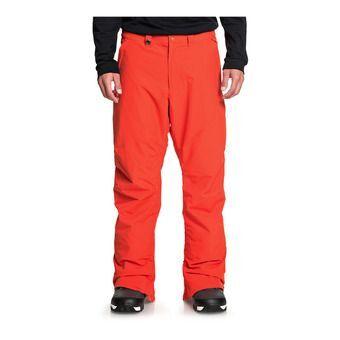 Quiksilver ESTATE - Pantalon snow Homme poinciana