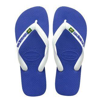 Havaianas BRASIL LOGO - Tongs Homme marine blue