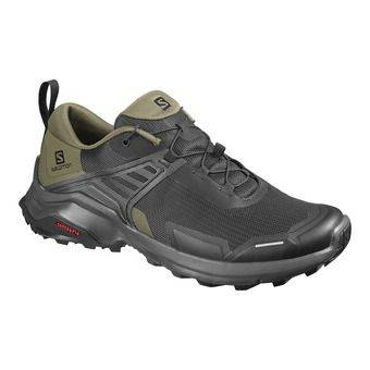 Salomon X RAISE - Chaussures randonnée Homme black/grape leaf/phantom