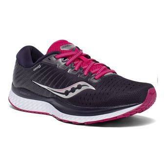 Saucony GUIDE 13 - Chaussures running Femme dusk/berry