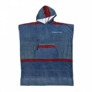 Quiksilver HOODY - Poncho surf Homme blue night