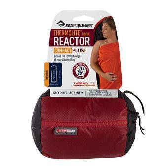 Sea To Summit THERMOLITE REACTOR COMPACT PLUS - Drap sac de couchage rouge