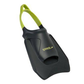 Speedo BIOFUSE FITNESS - Palmes d'entraînements grey/lime