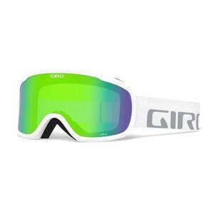 Giro CRUZ - Masque ski white wordmark loden green