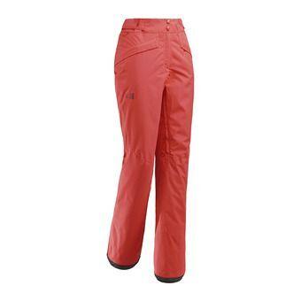 Millet ATNA PEAK - Pantalon ski Femme poppy red