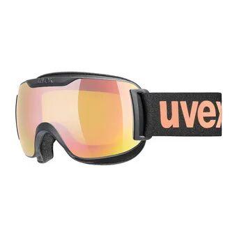 Uvex DOWNHILL 2000 S CV - Masque ski black mat/mirror pink vista