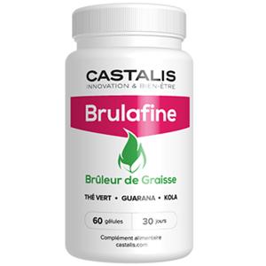 Castalis Brulafine, brûleur de graisse (60 gélules) - Publicité
