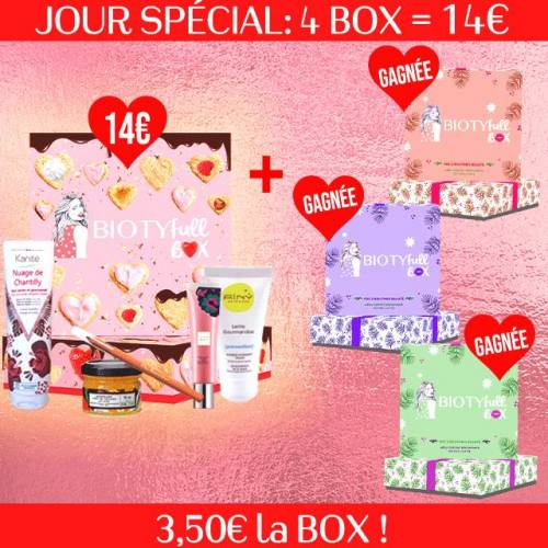BIOTYFULL Box Box Beauté 3,50€