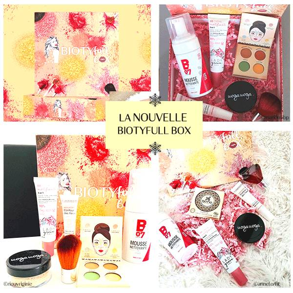BIOTYFULL Box 6 Box Beauté pour 1