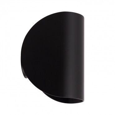 ledkia.com Applique LED Gaia 6W Noire Éclairage Double Face Blanc Chaud 2800K -