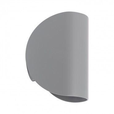 ledkia.com Applique LED Gaia 6W Grise Éclairage Double Face Blanc Chaud 2800K -