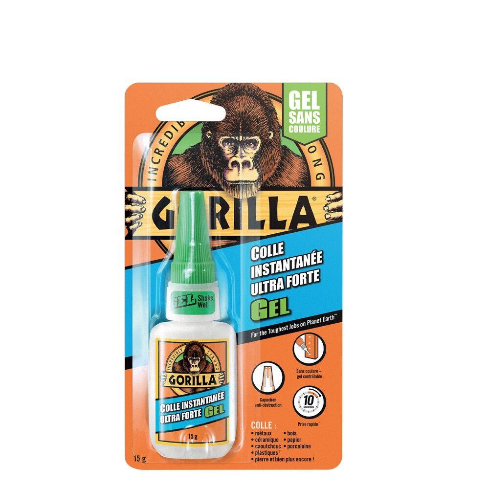 Gorilla Glue Colle Instantanée Ultra Forte Gel 15g