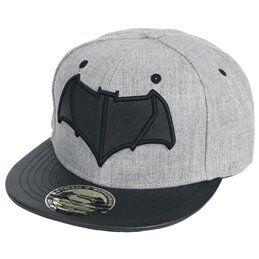 Cotton Division Casquette Superman grise marquage noir - Cotton Division
