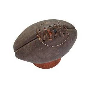 European Sport Vintage Mini Ballon RUGBY vintage collection cuir Marron - European Sport Vintage