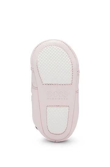BOSS Bottines pour bébé en cuir avec lacets élastiques taille: 18,17,19,20