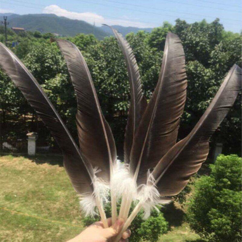 AliExpress Nouvelle liste! Plumes d'aigle naturelles rares, 10 pièces, 20-26 pouces/50-65 cm, livraison