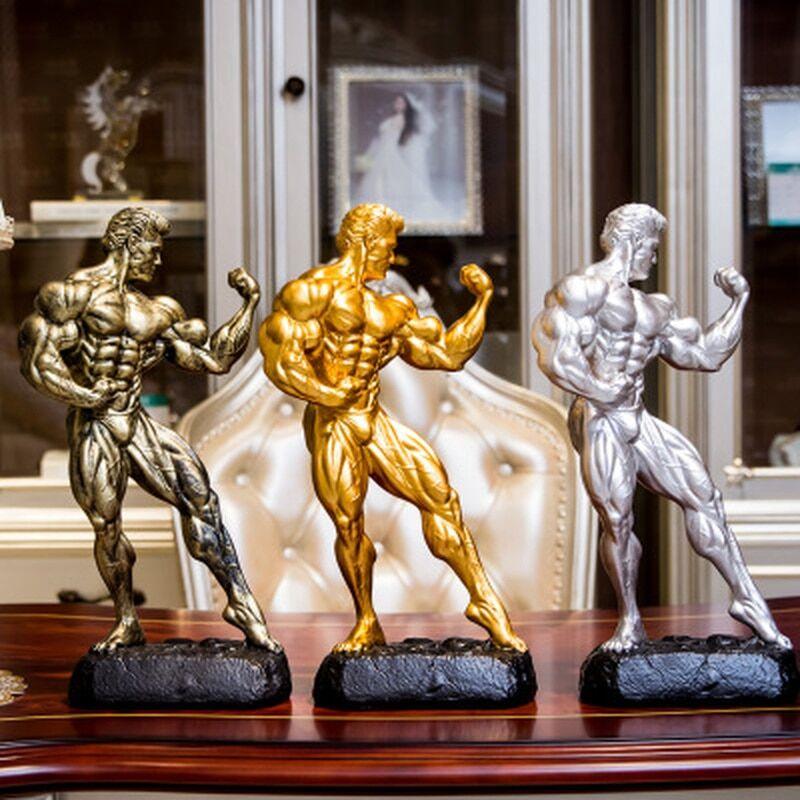 AliExpress Figurines de Fitness pour homme, ensemble de musculation, de compétition, de sport, de boxe,