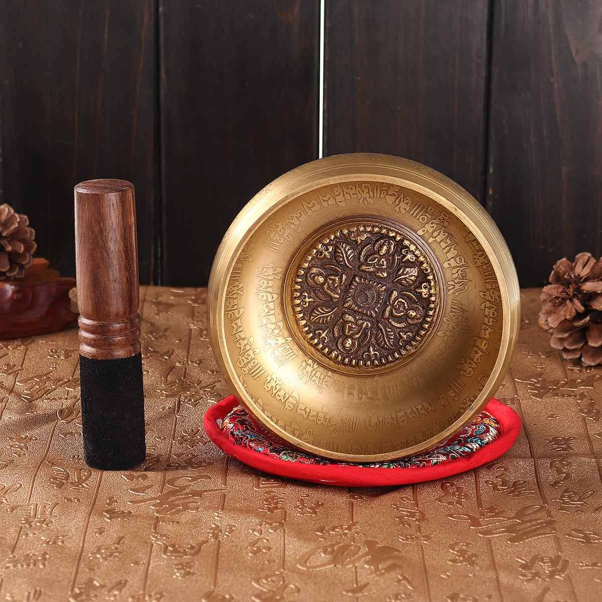 AliExpress Bol tibétain de chant bouddhiste népalais, bol de méditation, son bouddhiste, thérapie de Yoga,