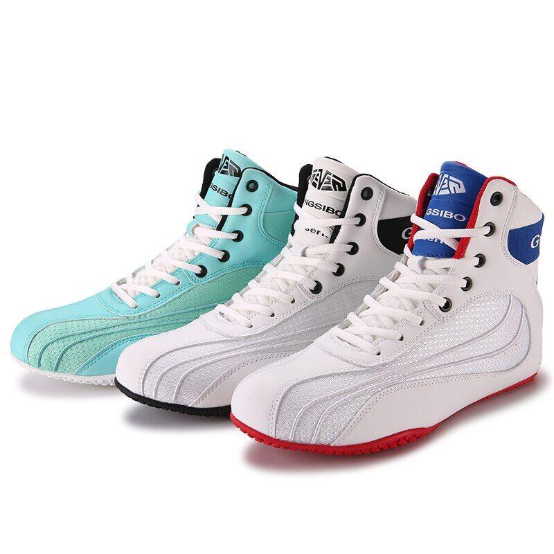 AliExpress Chaussures de boxe professionnelles pour hommes, baskets légères de grande taille 36-46, de haute