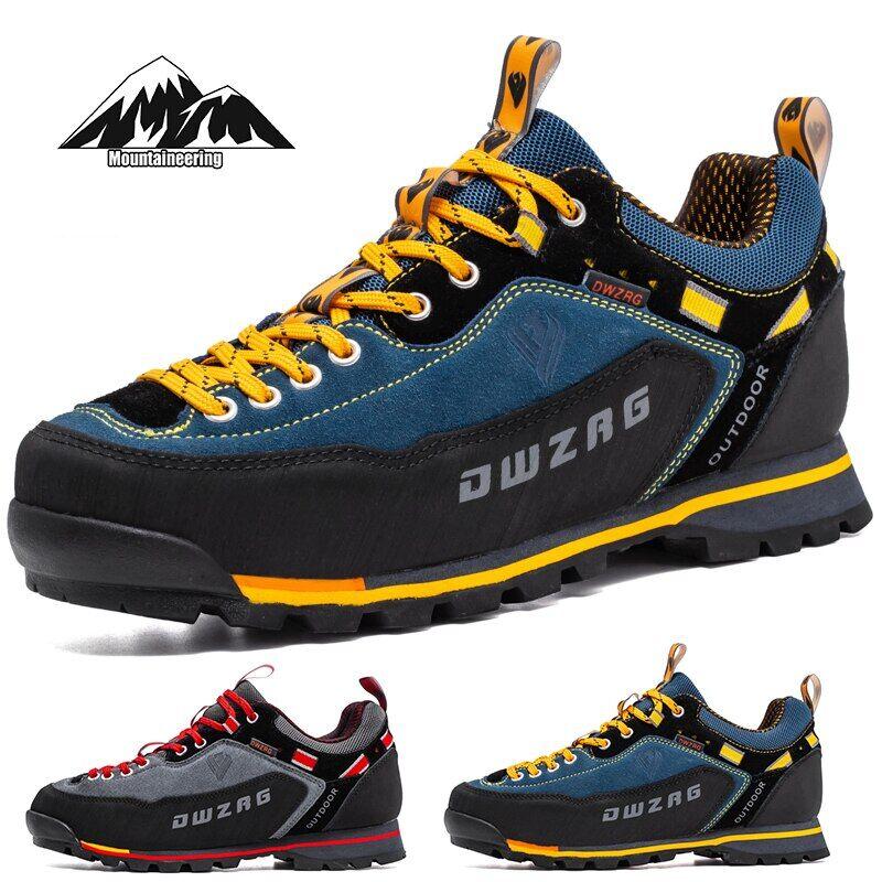 AliExpress Chaussures de randonnée en cuir imperméables pour hommes, de sport, d'extérieur, de chasse et de