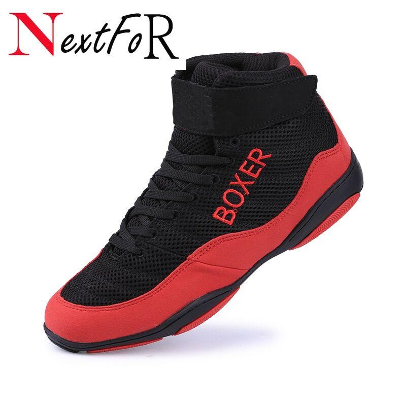 AliExpress Chaussures de boxe légères et respirantes en maille pour homme et femme, Sneakers professionnelles,