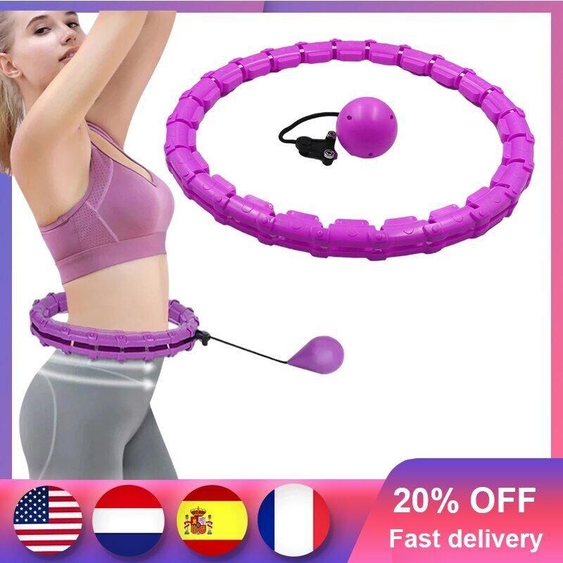 AliExpress Cerceaux de Sport réglables pour la perte de poids, équipement de Fitness et de Massage détachable