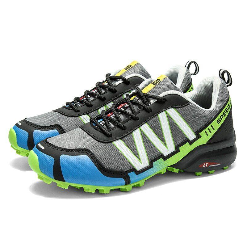 AliExpress Chaussures de vélo antidérapantes pour hommes et femmes, baskets de vtt, de course sur route, de