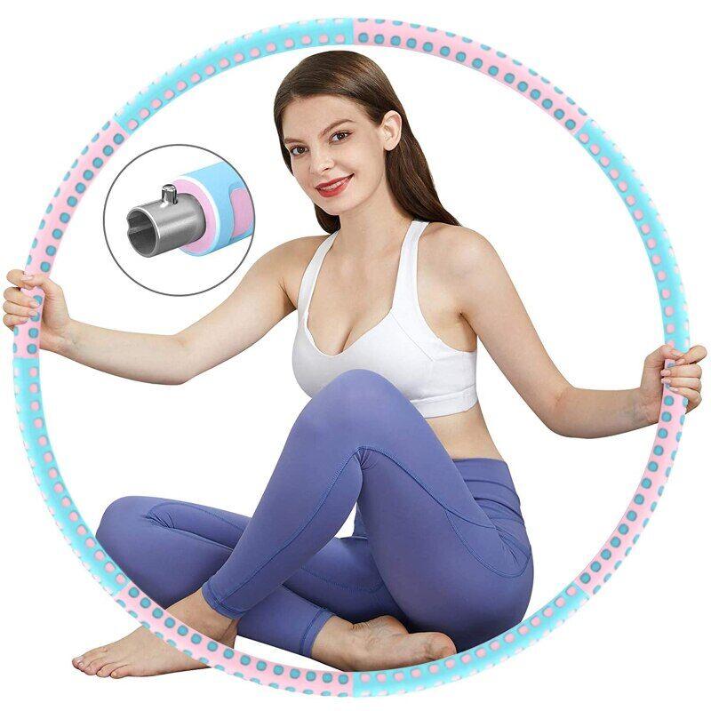 AliExpress Cerceau lesté pour Fitness, Yoga, exercice de taille, amincissant, Sport, boucle de Massage, perte