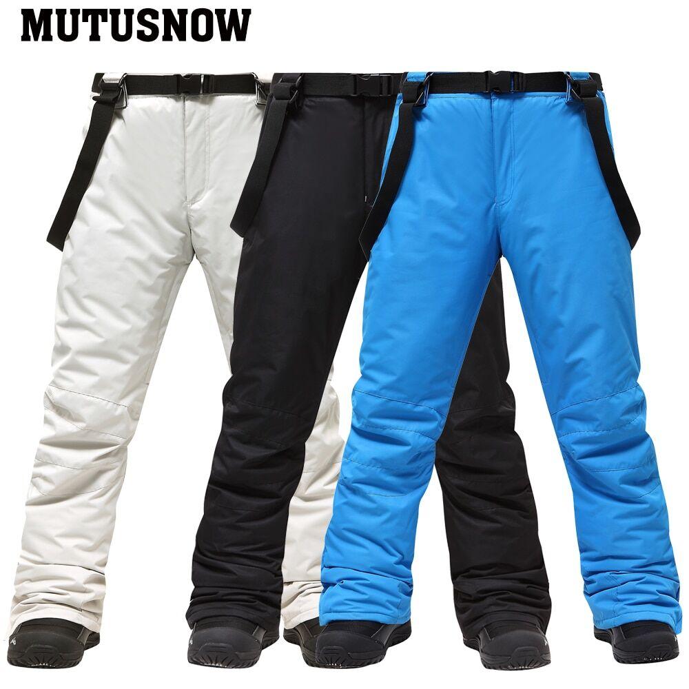 AliExpress Pantalon de Ski imperméable et respirant pour homme, vêtement d'extérieur à-30 degrés, idéal pour le